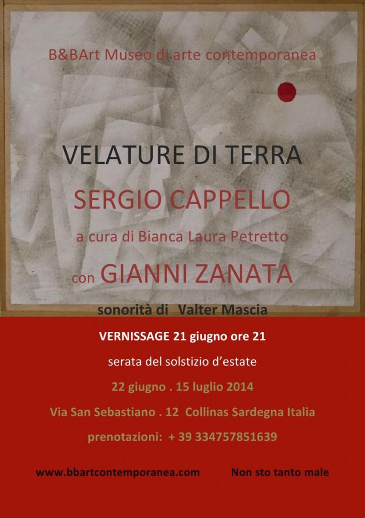 1 manifesto VELATURE DI TERRA SERGIO CAPPELLO bbart 21giugno 2014