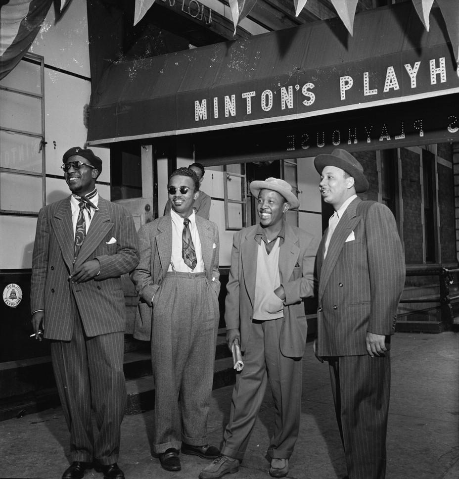 Thelonious_Monk,_Howard_McGhee,_Roy_Eldridge,_and_Teddy_Hill,_Minton's_Playhouse,_New_York,_N.Y.,_ca._Sept._1947_(William_P._Gottlieb_06201)